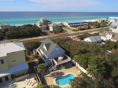 Photo for Private Heated Pool - Gulf Views - Recently Remodeled- 5 Bikes - `Miss Margaritaville`