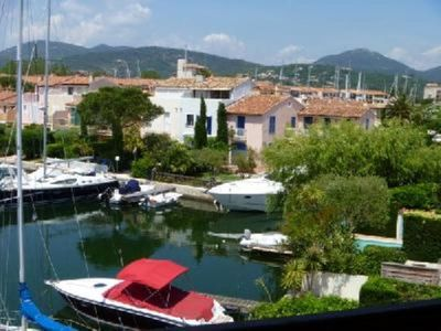Photo for PORT GRIMAUD  REMODELED WATERFRONT 2 BR APT CLOSE to BEACH and SHOPS