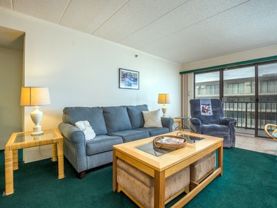 Photo for Great Location - 8 Blocks to Boardwalk - Free Linens, Pool, Ocean View!