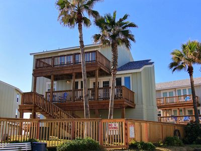 Photo for Beach Beauty is a beachfront 3 bedroom 3 bath home! AMAZING views!