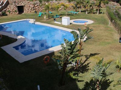 Photo for Modern apartment - airco - pool - Wifi - covered parking - terrace - 2 bedrooms