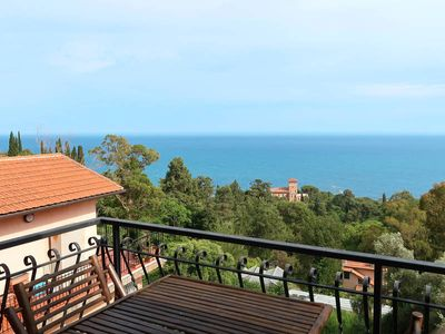Photo for Apartment Vista Capo Mortola  in Ventimiglia, Liguria: Riviera Ponente - 4 persons, 2 bedrooms