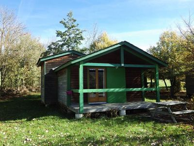 Photo for Camping Le Plo *** - Mini Chalet Olga 2 Rooms 5 People