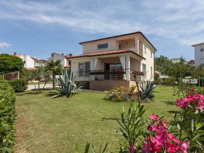 Photo for This beautiful two-floor villa with a stunning view on the Fazana...