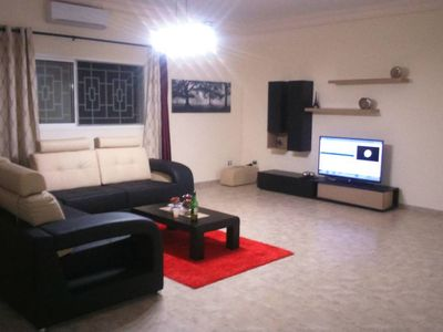 Photo for Very quiet residential area with good neighbors.  Comfortable big rooms, with AC