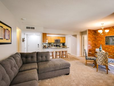 Photo for SLEEPS 8 Beautiful, Fully Furnished Condo - Great Price, Perfect Location!