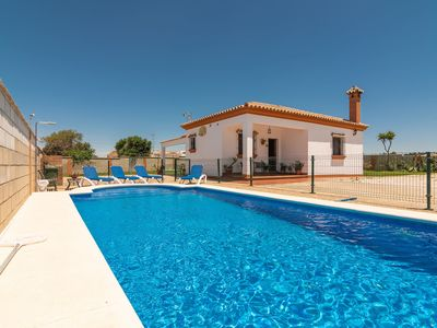 Photo for Charming Home with Pool, Spacious Terrace, Garden & Wi-Fi; Pets Allowed, Parking Available