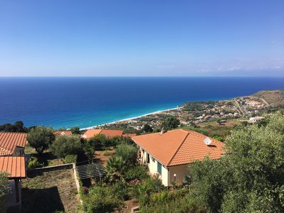 Photo for Bella Vista - Holiday home with sea views in southern Italy