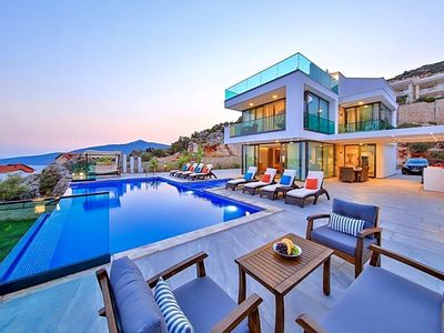 Photo for Kalkan Villa, Sleeps 10 with Pool and Air Con
