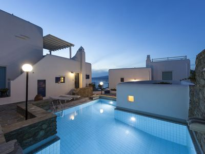 Photo for Mykonos Town House  - 2 Bedroom Residence with Pool and Parking in Mykonos town
