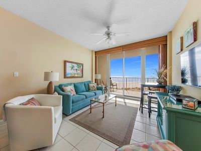 Photo for Spec $69 Lighthouse Condo - Gulf View -Front Door Parking-3 Pools-Bunk Rm