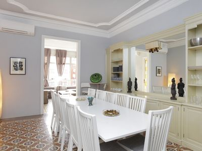 Photo for BIG and Stylish flat near SAGRADA FAMILIA!!!