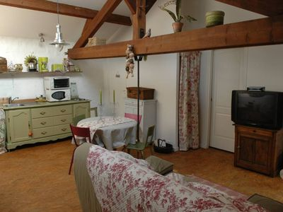 Photo for La Ville Du Bois: Charming apartment 20 km from Paris