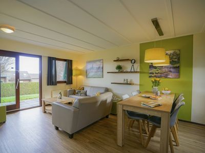 Photo for Bungalow in the holiday park Landal Reevallis - View over the hilly landscape