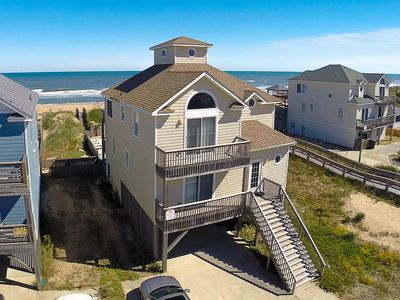 Photo for K1035 Tranquility. Private Pool, Hot Tub, OCEANFRONT, Linens!