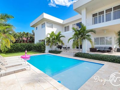 Photo for Modern Luxurious Beach Retreat-5 BR with/Heated Pool