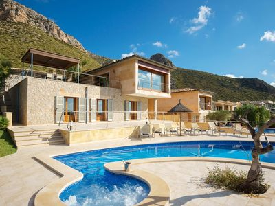 Photo for Luxury Villa With Impresive Sea Views In Puerto Pollensa, Mallorca