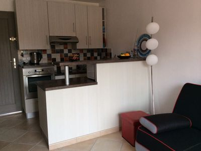 Photo for Collioure apartment with large sun terrace - Private parking