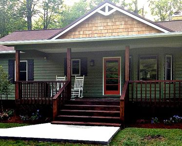 Photo for On the Hiawassee River! Sleeps 6! Only 16 miles from Helen!