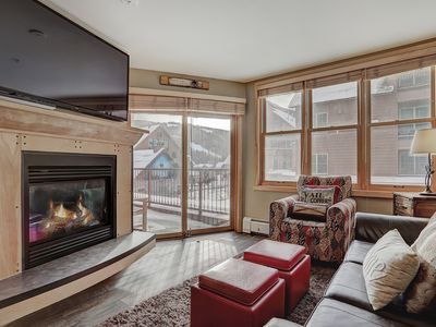 Photo for Silver Mill 8154 renovated, king bed, FREE WIFI, Walk to slopes, 3 hot tubs by SummitCove Lodging