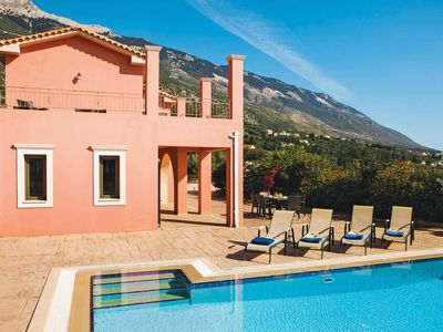 Photo for 3 bedroom Villa, sleeps 6 in Lourdata with Pool, Air Con and WiFi