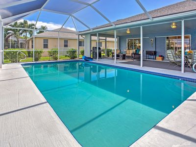 Photo for Cape Coral House w/ Private Pool & Gulf Access!