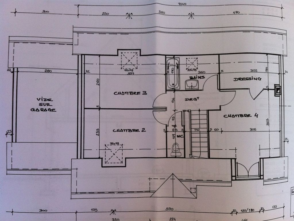 4 bedroom house with beautiful garden near deauville for Plan de maison basse