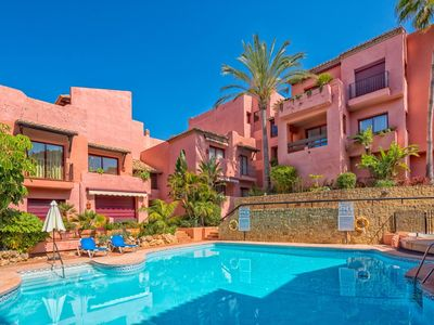 Photo for Elviria Beachside 2BR Apartment, 200m to the Beach
