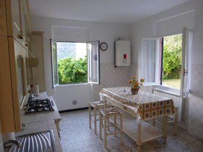 Photo for Holiday Home Libeccio with sea view