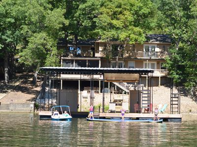 Photo for Family Friendly Lake Home, Private Boat Dock, Paddle Boat,Chill Raft,Lake Ozark