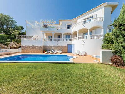 Photo for Villa w/ countryside views, hot tub, private garden, pool & terrace