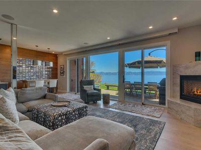 Photo for Shore Camp - Lakefront: 4 BR / 2.5 BA four bedrooms in Tahoe City, Sleeps 10