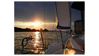 Photo for Stay Aboard Our 40-Foot Private Sailing Yacht w/ 2 Cabins — private slip & AC!