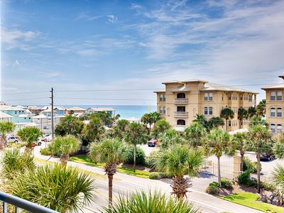 Photo for Gulf Place Penthouse! Gulf Views, Pools, Walk To Beach! 'Mike's Hideaway'