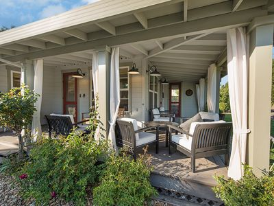 Photo for VINEYARD VIEWS ON WRAPAROUND PORCH IN ST. HELENA!