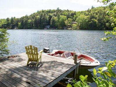Photo for Charming three-bedroom, one-bath waterfront home with screened-in porch.