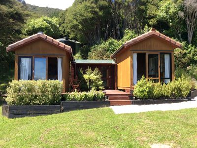 Photo for Eco luxury cabins in Orchard Valley