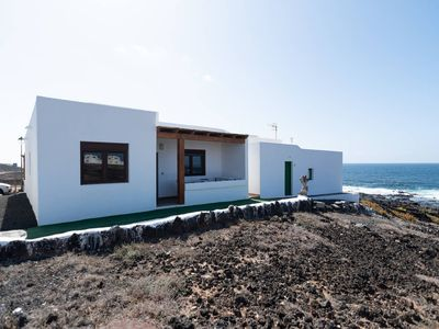 Photo for Holiday Home Casa Mar Close to Surf Spot with Ocean View, Patio & Wi-Fi; Pets Allowed, Parking Available