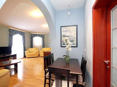 Photo for Plava Villa C standard apartment with side sea view