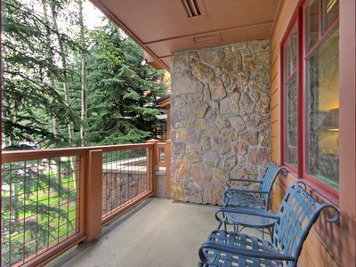 Photo for Refined Condo with Sunny Views 2 Blocks to Downtown Breck