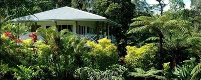 Plantation style home in the cool Fijian forest.