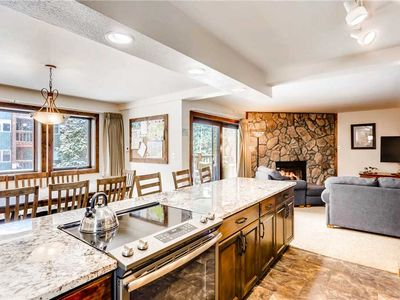 Photo for Rustic mountain condo close to town with private balcony