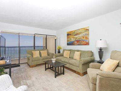 Photo for Ocean Vista 1103 - You Won't Believe the Breathtaking Panoramic Ocean Views from this 11th Floor Beachfront Condo