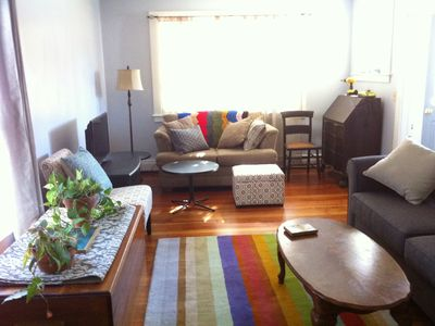 Photo for Intown, Quiet Street, 5 min walk to Shore Path, steps to shops, eats, & bus