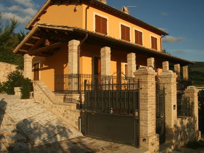 Photo for Old Country House and pool In Umbrian Hills Between Foligno And Assisi