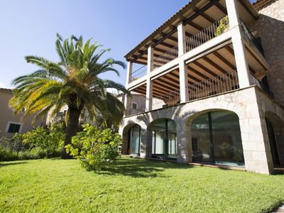 Photo for This 4-bedroom villa for up to 8 guests is located in Fornalutx and has a private swimming pool, air