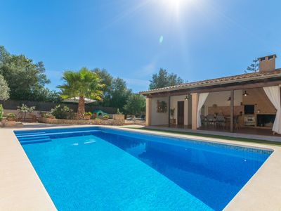 Photo for Villa for 8 with pool and table tennis, close to the beach, Portocolom, Felanitx