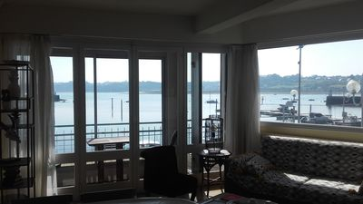 Photo for Apartment overlooking the marina