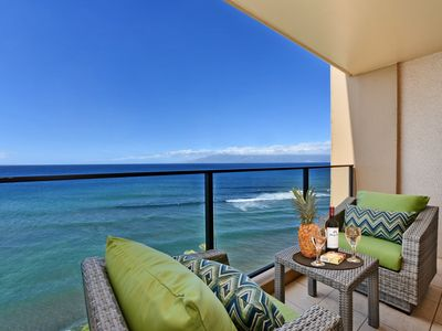 Photo for Mahana 1113  New Studio Listing! Breathtaking Oceanfront Views Greet you!