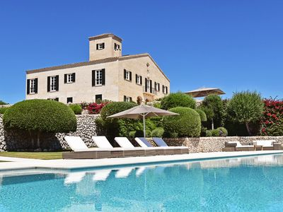 Photo for 11 bedroom Villa, sleeps 24 with Pool, Air Con and FREE WiFi